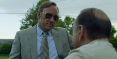 Oakley aviator sunglasses worn by Kevin Spacey in HOUSE OF CARDS: CHAPTER 3 (2013) #oakley