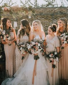 2020 Bridesmaid Dresses Ever Pretty Elegant Blush Pink Wedding Dress Bliss Bridal Bridesmaid Dresses Walima Dress White Bridesmaid Dresses Long, Blush Pink Wedding Dress, Blush Pink Weddings, Beige Wedding, Fall Wedding, Dream Wedding, Wedding Attire, Wedding Dresses, Sheath Wedding Gown