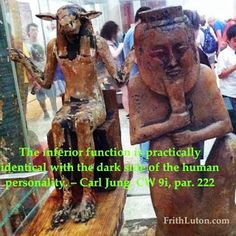 "Carl Jung Depth Psychology: Carl Jung on ""Inferior Function."" Lexicon."