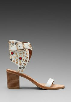 80d2d7060e7 JEFFREY CAMPBELL Seneca in White Leather Multi at Revolve Clothing - Free  Shipping! Toms Shoes