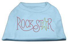RockStar Rhinestone Shirts for Dogs