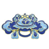 Cloisonne Spacer Bar Flower handmade  lead & cadmium free Approx 2mm Sold By PC