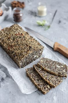 Seed Bread, Banana Bread, Food And Drink, Low Carb, Chicken, Desserts, Recipes, Seeds, Tailgate Desserts