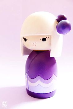 Purple Momiji Doll