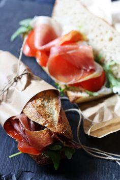 Sandwich casse croute chez Boulangerie L'enfarine, Kaysersberg, France