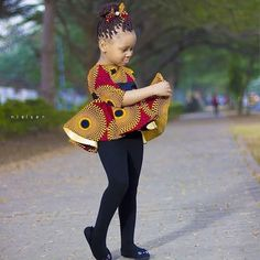 Baby Girl Ankara Trouser and Top Style for Birthday.Baby Girl Ankara Trouser and Top Style for Birthday Baby African Clothes, African Dresses For Kids, African Babies, African Print Dresses, African Fashion Ankara, African Wear, Kids Outfits Girls, Girl Outfits, Ankara Styles For Kids