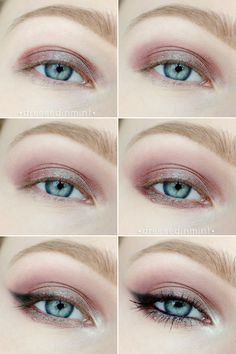 Dressed in Mint: make up. - INSOMNIA / step by step