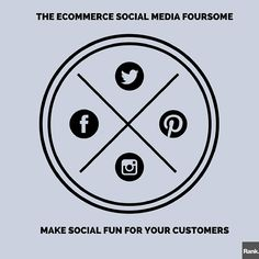 Your customers love social media, so why not make ecommerce marketing fun for them?