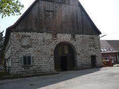 Altes  Backsteinhaus  im   Sauerland