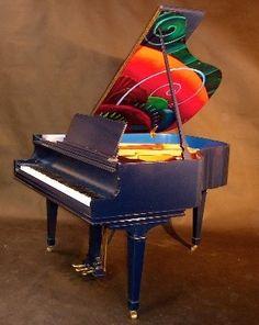Art Case Knabe Baby Grand Piano 1941