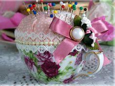Kreative Deko Ideen zum Muttertag aus Tassen und Schalen