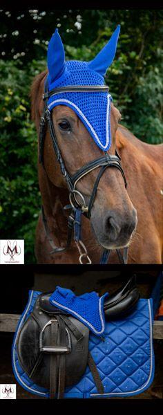 FLY VEIL EAR NET PINK RIBBON EMBROIDERY DESIGN HORSE EQUESTRIAN DIAMANTE BNWT
