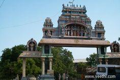 Uvari (East) Temple Front Arch in Tirunelveli Dist