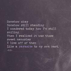 """Parasite.  #love #life #life #loss #heartbreak #loneliness #newyear #sameme #iloveyou #ink #spilledink #writers #writersofig #writersofinstagram…"""