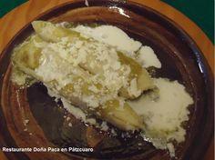 Cocina Mexicana: Uchepos platillo típico de la gastronomía michoacana, pruébalos en Restaurante Doña Paca en Pátzcuaro
