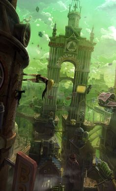 Gravity Rush - Main Visual