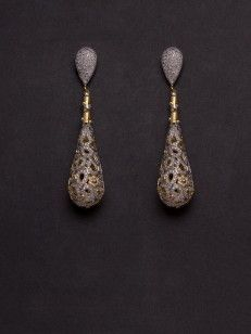 Earring with Cz-JWER2631