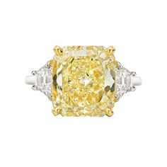 Betteridge Fancy Yellow Diamond Ring. I'd say yes haha