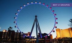 Groupon - $ 69 for VIP Ride Package for Two with All You Can Drink Option at The High Roller at the LINQ ($109 Value)  in The High Roller at the LINQ. Groupon deal price: $69