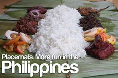 Boodle Fight, Boodles, Filipino, The Best, Attraction, Food Porn, Facebook, Dining, Ideas