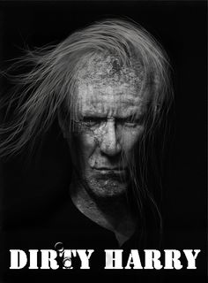 Dirty Dirty Harry! Lee Jeffries, Photoshop, Movie Posters, Movies, 2016 Movies, Film Poster, Films, Popcorn Posters, Film Books
