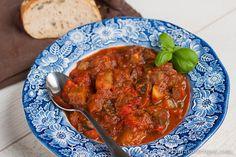 Ciambotta -- (Italian Vegetable Stew)