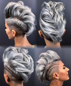 "7,284 Likes, 135 Comments - MODERN SALON (@modernsalon) on Instagram: ""Silver FTW! @hairgod_zito #modernsalon #silverhair #silver #hairgoals"""