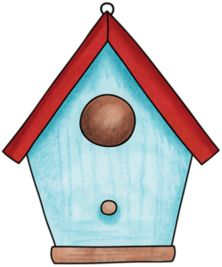 birdhouse clip art birds birdhouses clipart pinterest rh pinterest co uk birdhouse clipart black and white birdhouse clipart free