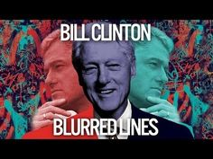 """Bill Clinton Sings """"Blurred Lines"""" By Robin Thicke"""