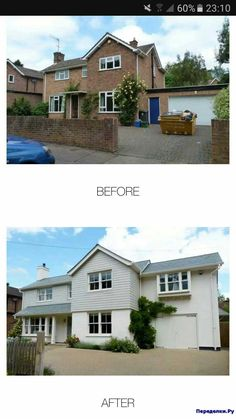 Home Renovation – Remodel Your Living Space - Home Remodeling House Cladding, Exterior Cladding, Facade House, House Windows, Home Exterior Makeover, Exterior Remodel, Rendered Houses, Bungalow Renovation, House Renovations