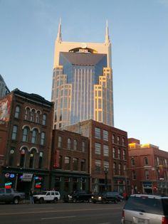 Batman building Nashville Tennessee