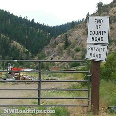 #EndOfTheRoad  #canyon #dump #keepout #NorthCentralWashington #RoadTrip #NWRoadtrips