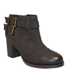 This Restricted Black Carson Bootie by Restricted is perfect! #zulilyfinds