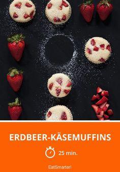 Erdbeer-Käsemuffins - smarter - Zeit: 25 Min. | eatsmarter.de