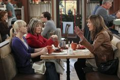 """Mom Photos: Diner meet up in """"Cotton Candy and Blended Fish"""" Episode 11 of Season 1 on CBS.com"""