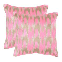 Boho Chic Pillow Neon Petunia ($102) ❤ liked on Polyvore featuring home, home decor, bohemian style home decor, boho home decor, boho style home decor, bohemian home decor and neon home decor