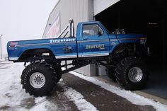 """Lifted Trucks Bigger Than Godzilla, They Are Cooler Than You Thought! If you' were to define the phrase """"truck"""" in one word, what might it be? 1979 Ford Truck, Ford Pickup Trucks, 4x4 Trucks, Diesel Trucks, Custom Trucks, Lifted Trucks, Cool Trucks, Chevy Trucks, Ford 4x4"""