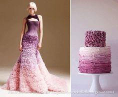 世界のウェディングケーキ 新郎新婦のウエディングケーキアイデア集