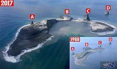 """التقاط صورًا لبركان """"بوغوزلوف"""" في آلاسكا تدهش…: انفجر بركان بوغوزلوف، في آلاسكا، وأدى إلى هدم العديد من المنازل في جزيرة آلوشيان نتيجة…"""