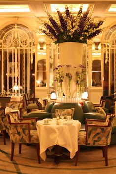 Florist McQueens...and their beautiful work in Claridge's Hotel | Flowerona