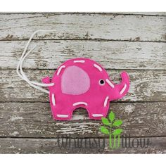Elephant Lacing Card