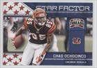 Chad Ochocinco Chad Ochocinco Johnson, Cincinnati Bengals (Football Card) 2011 Panini Threads Star Factor #3 by Panini Threads. $0.90. 2011 Panini Threads Star Factor #3 - Chad Ochocinco