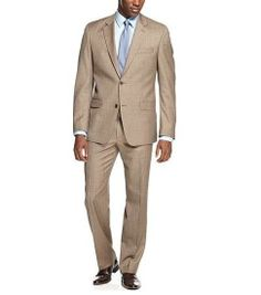 e7a2cc65 MEN'S LIGHT BROWN SLIM FIT SUIT Big And Tall Style, Mens Big And Tall,