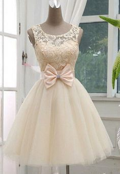 Short Lace Prom Dress