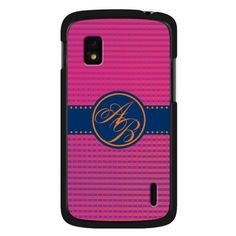 LG Google Nexus 4 Wave Monogram Case