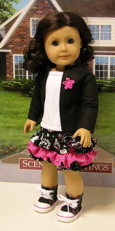 Wonderland Princess Skirt Set for American Girl