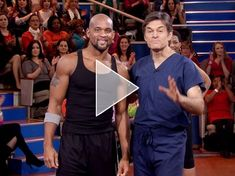 Shaun T's 15 Min. Miracle Workout w/ Dr. Oz. One word: INSANE! No equipment needed. No excuses, we all have 15 minutes to spare! I just did this and I'm sweating like crazy!