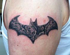 Batman tattoo by Zack Freeman