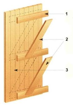 Hair Hacks: 7 simple hairstyles for Lazy and Late Sleepers - Koid.NET Hair Hacks: 7 simple hairstyles for Lazy and Late Sleepers - Koid. Wooden Window Design, Wooden Window Frames, Wooden Doors, Shed Doors, House Doors, Wood Projects, Woodworking Projects, Door Clamp, Make A Door