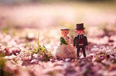 Funny Playmobil Wedding Photography on Behance